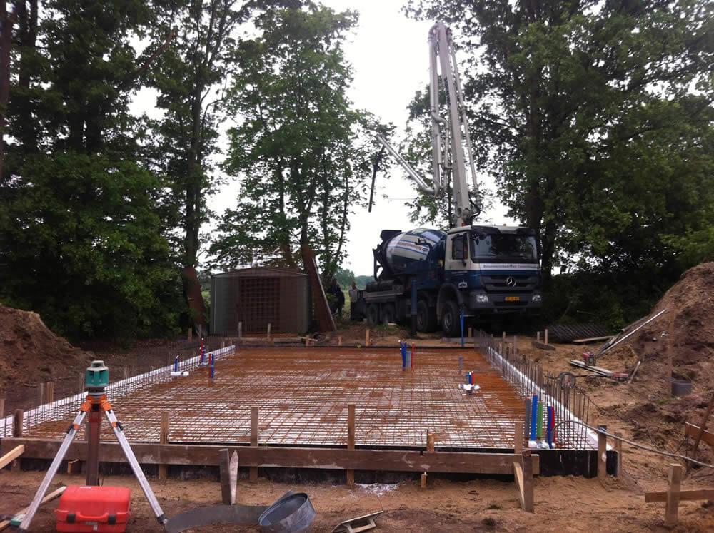 bouw onderlandhuis